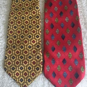 Other - Two Silk Neckties Made in Italy